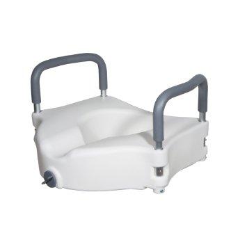 Drive Medical raised toilet seat