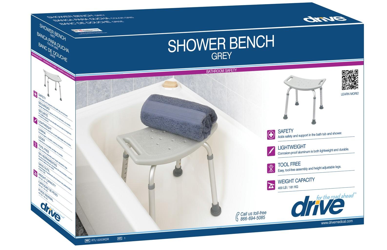 Drive Medical bath bench shower chair