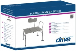 bath transfer bench Drive Medical