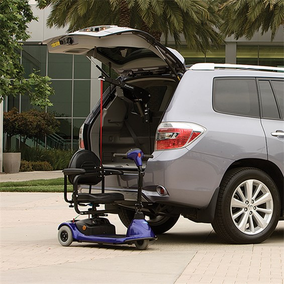 Bruno Curb-Sider Vehicle Lift