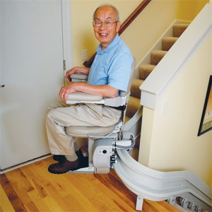 Elite Indoor Curved Stairlift