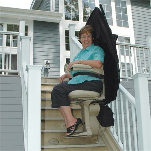 Elite Outdoor Straight Stairlift