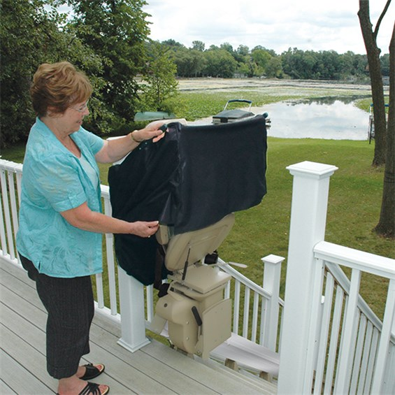 Elite Outdoor Straight Stairlift Northeast Mobility
