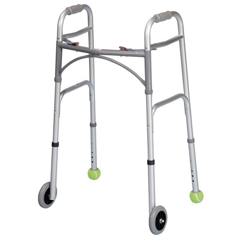 Image result for man with walker with tennis balls