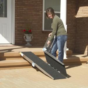pvi multifold portable folding ramps