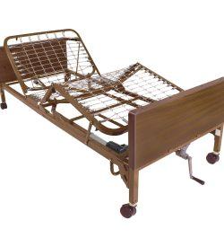 Drive Medical semi electric hospital bed