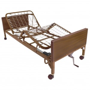 Drive Medical semi electric hospital bed