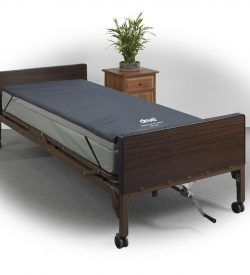Drive Medical semi electric hospital bed with gel overlay
