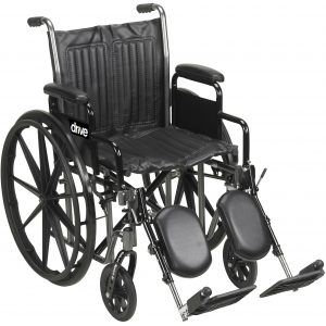 Silver Sport 2 Manual Wheelchair by Drive Medical