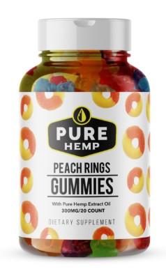 Pure Hemp Peach Rings